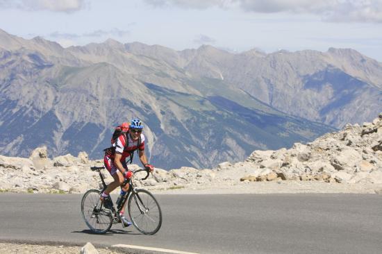 Montée du col de la Bonette - Alpes de hte Provence-2009