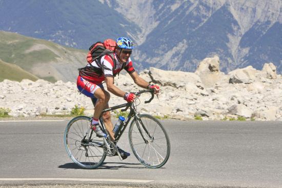 Col de la Bonette (alpes de hte Provence)-juillet 2009