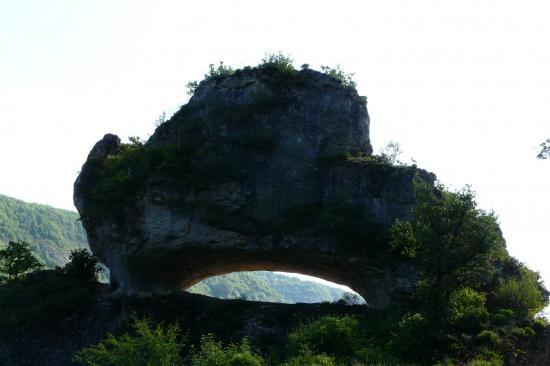 Autre construction naturelle prés de La Canourgue (Lozère)