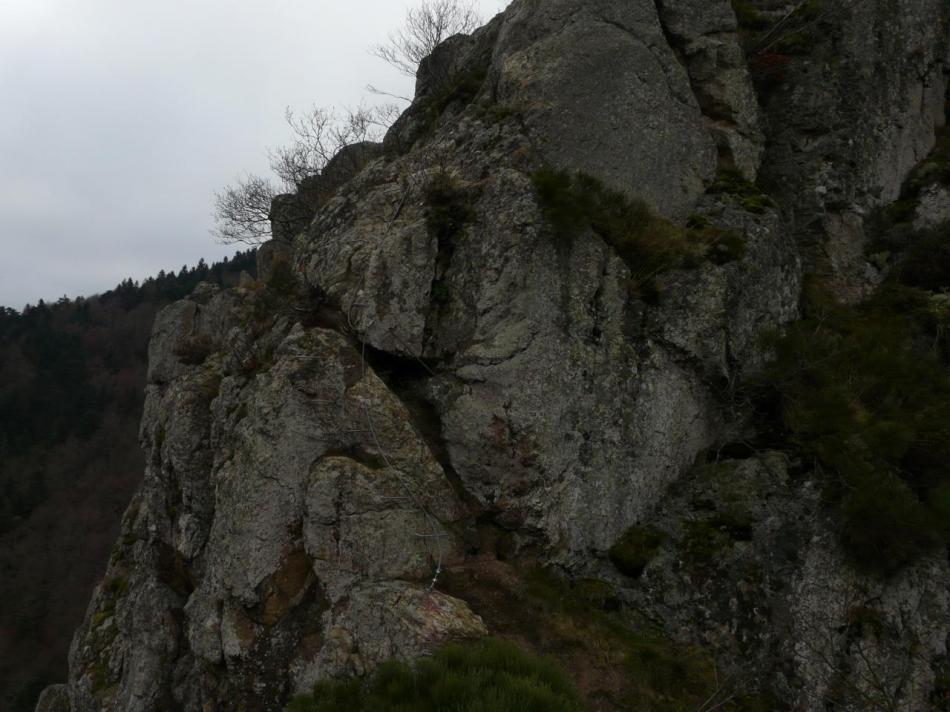 parcours bleu (rochers de la Miramande)