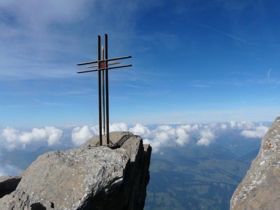 Sommet haute cime-suisse 2009