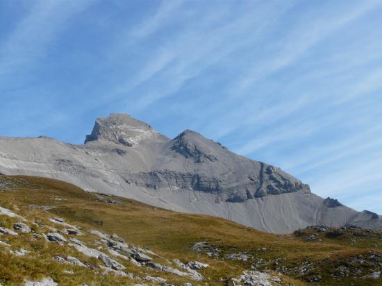 Approche de la haute cime -dents du midi-suisse 2009