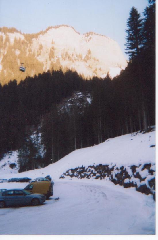 Les prodhains(Morzine) au pied d'Avoriaz