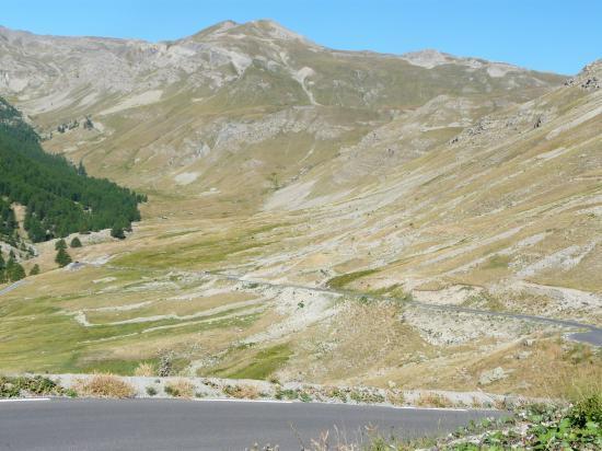 La montée vers la Bonette - 2009