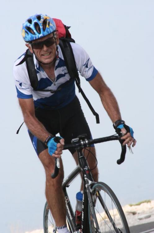 à 2 km du sommet du Ventoux - aout 2009
