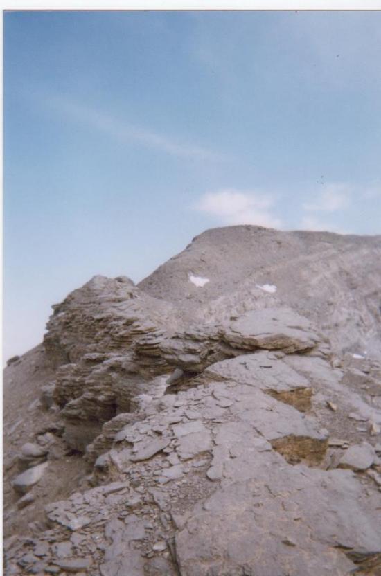 Vers le sommet du ruan - 2005