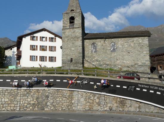 Déco tour de France 2009 à Verbier - Suisse