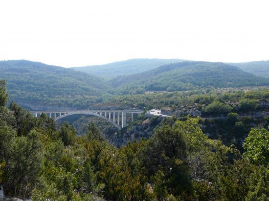 Le pont de l'Artuby-Verdon
