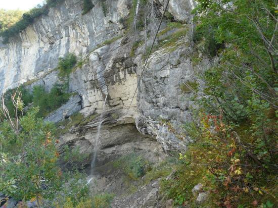 Via des Diablerets-la tyrolienne
