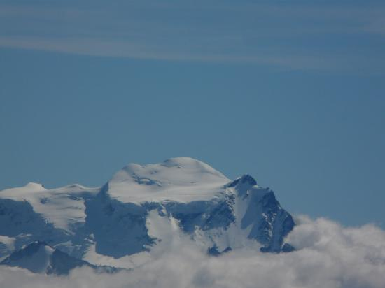 le mont blanc depuis Haute Cime-Suisse 2009