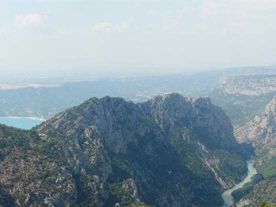 Le Verdon et le lac de Ste croix