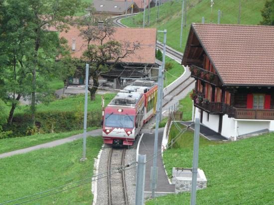 Chemin de fer suisse à champéry-2009