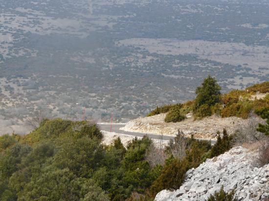 montée vers le mont sainte Baudille