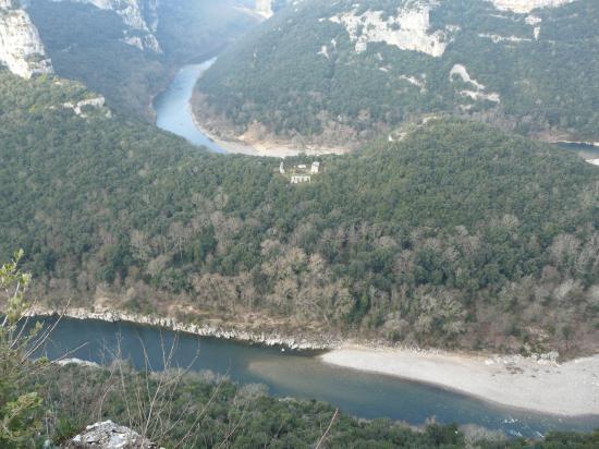 les gorges de l' Ardèche