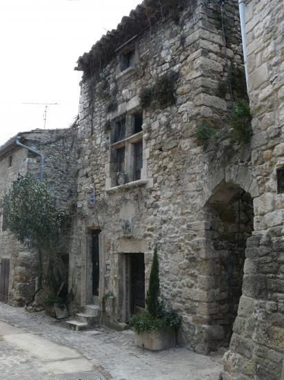 village d' Aiguèze (Ardèche)