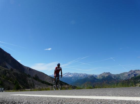 col de l' Izoard à vélo