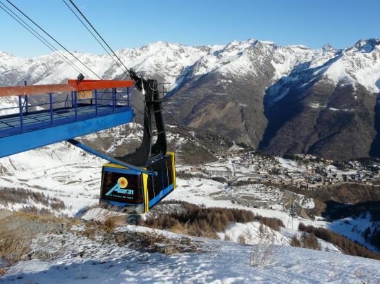 Ski à Auron-St Etienne de Tinée
