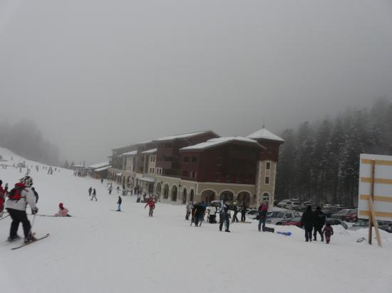 Les nouveaux bâtiments de la station de la Bresse- Vosges