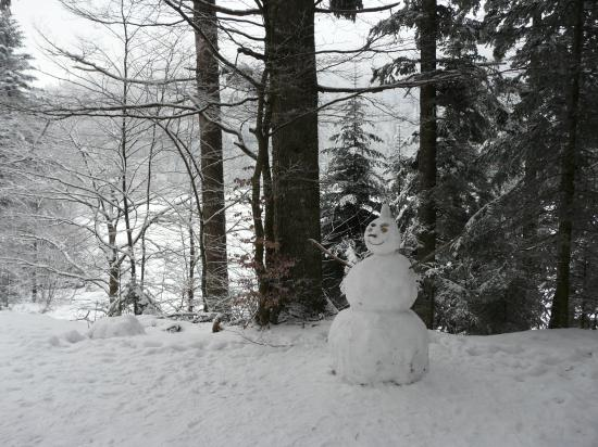 Randonnée neige lac de Blanchemer