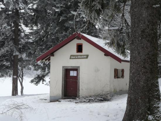 Le refuge ouvert du lac de Blanchemer