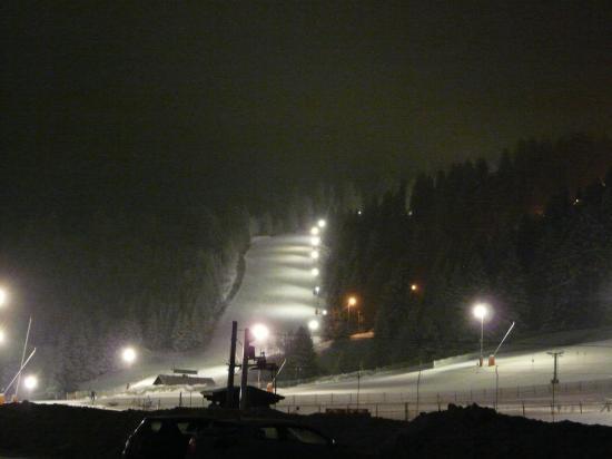 Nocturne ski à la Mauselaine (Gerardmer)