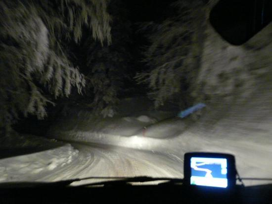 Rallye sur neige de nuit ! Col de Menèe