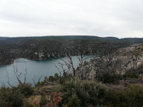 Beauté sauvage du lac d' Esparron