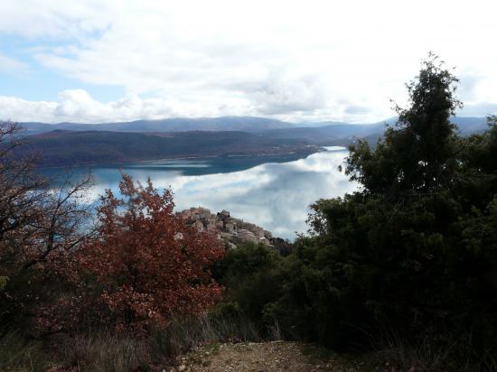 Sainte Croix le village et le lac