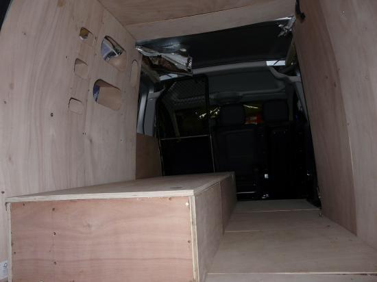 lit coffre installé