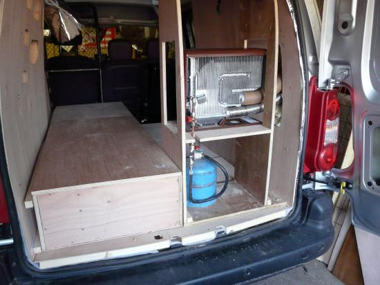 berlingo citroen am nagement en camping car. Black Bedroom Furniture Sets. Home Design Ideas