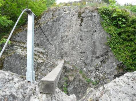 la première poutre de la via de Bussang