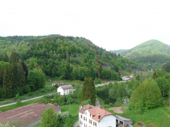 le site de la via des souces de la Moselle à Bussang