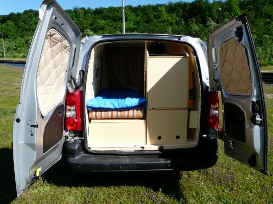 Populaire Berlingo Citroen aménagée camping car DF52
