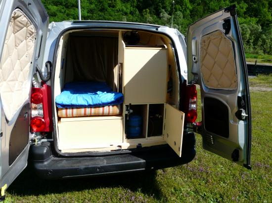 Camping car for Amenagement interieur camping car