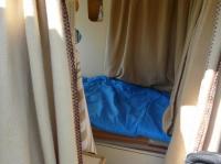 lit vu de la porte latérale