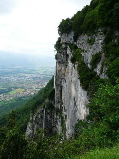 Site des vias et ses cascades de l' Oule.