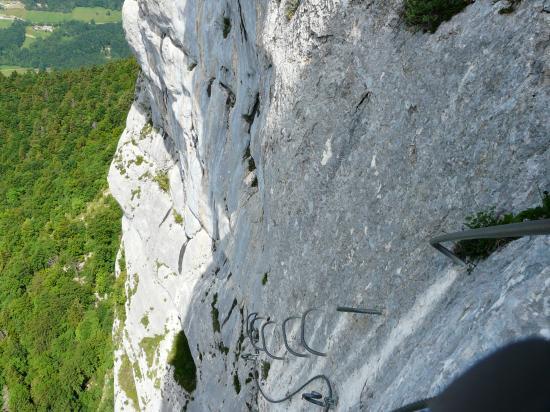 via de roche Veyrand ... aérienne !