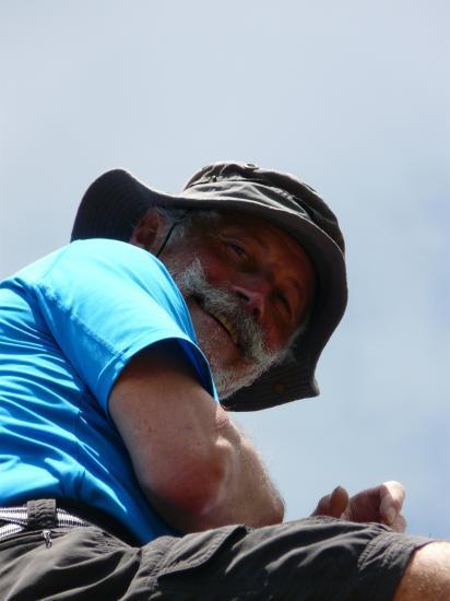 Un savoyard préssé bien perché au sommet du grand Som !