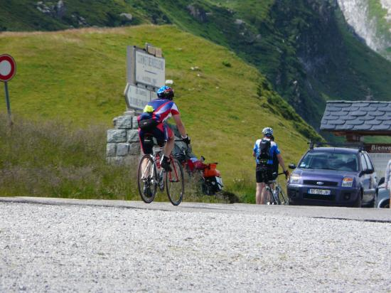Cormet de Roselend montée à vélo depuis Beaufort