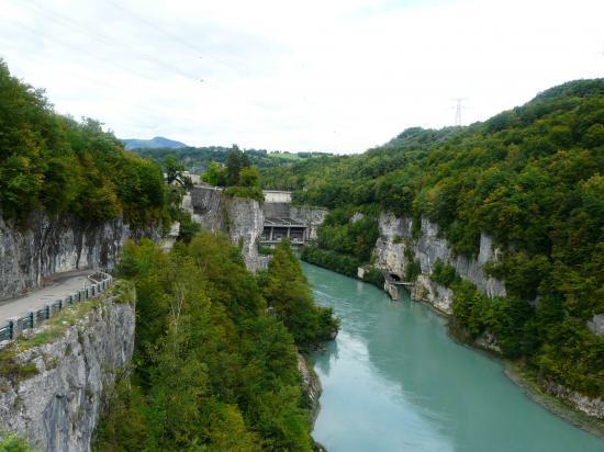 le barrage de Génissiat