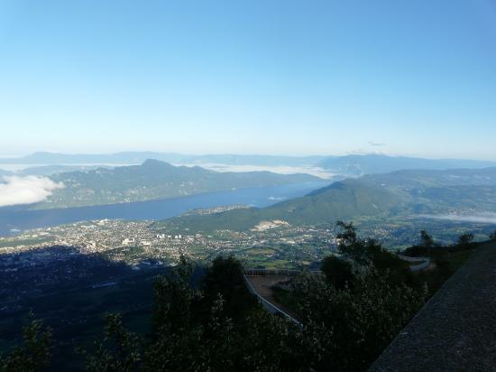 lac du Bourget depuis Le Revard