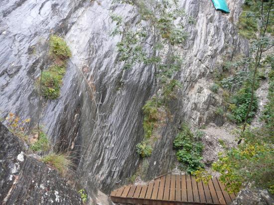 Le départ de la via du Ségudet à Ordino (Andorre)