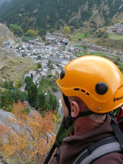 vias en Andorre,belle vue sur Canillo