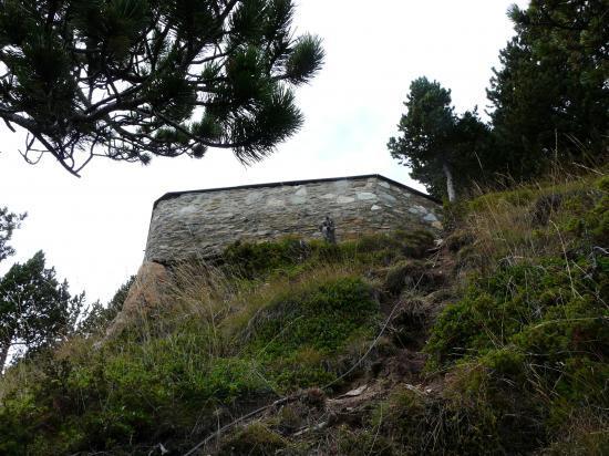 La sortie de la directissima à Roc del Quers