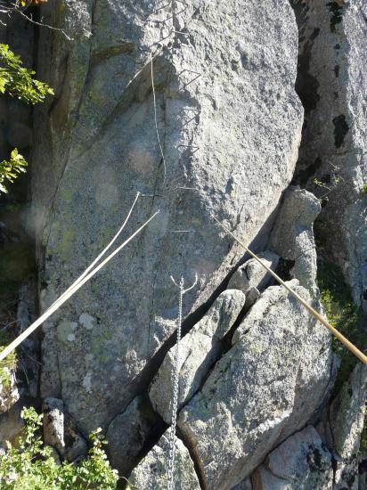 le pont de singe - roc del escaldes