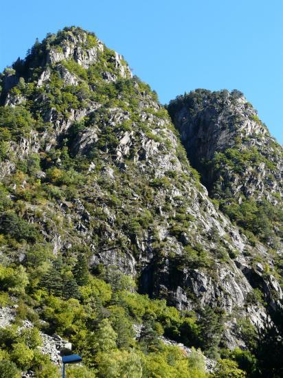 Le site de la via du roc d' Esquers à Escaldes
