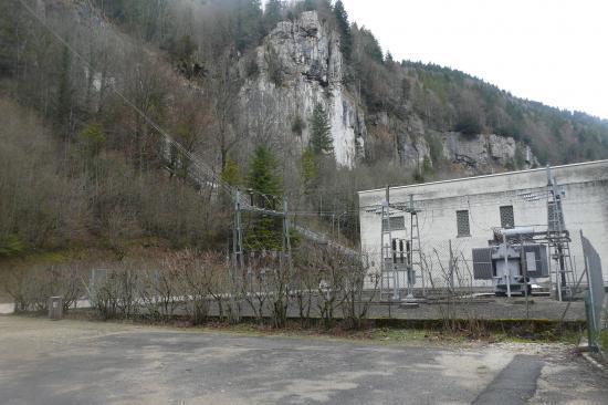 Charquemont / l' usine EDF du Refrain