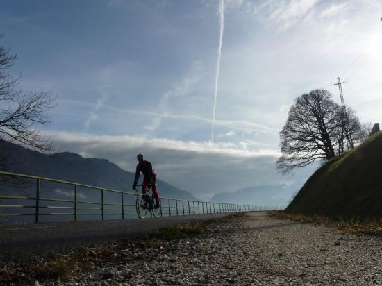circuit vélo lac d' Annecy