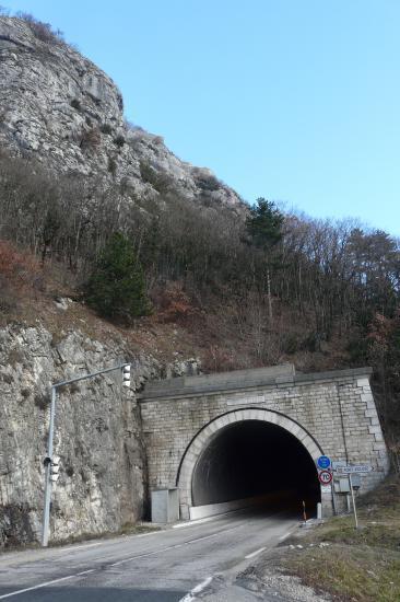 le tunnel routier sous le fort l' écluse (Léaz)
