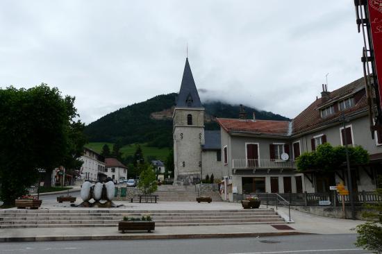 le centre ville de Sappey en chartreuse